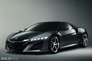 Updated Acura NSX Concept Makes Us Wonder, Corvette Who?