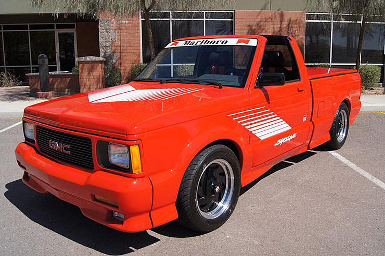 This Marlboro GMC Syclone is One Super Rare Super Truck