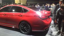 2017 Genesis G80 at Busan Motor Show
