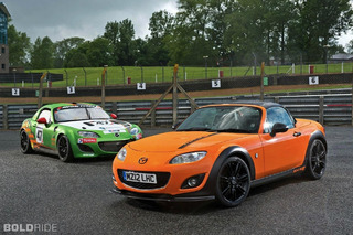 Nippon Ride: Mazda MX-5 GT Concept Good For 205 HP, Is Orange