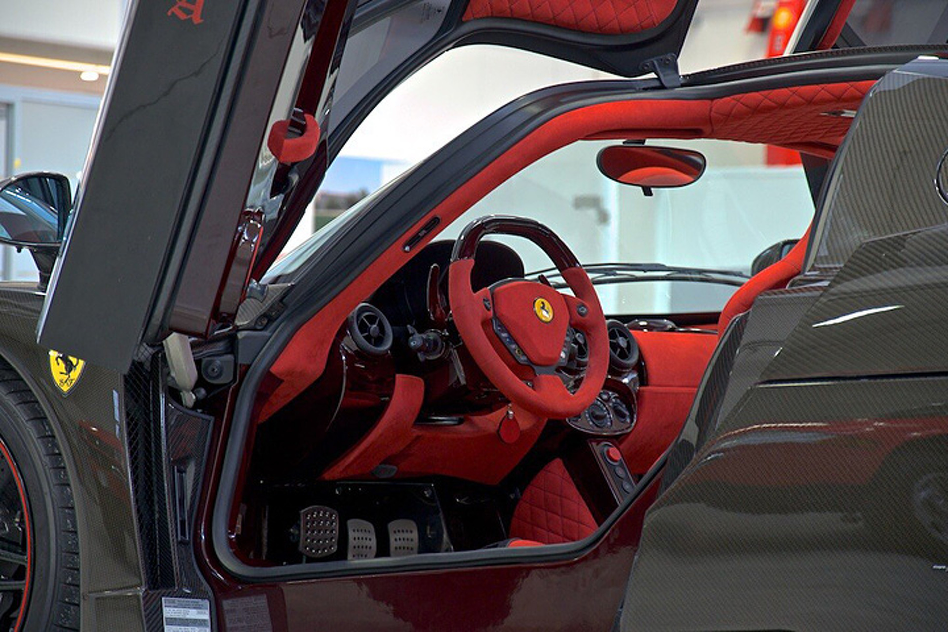 The World's Only Bare Carbon Ferrari Enzo is Up for Sale
