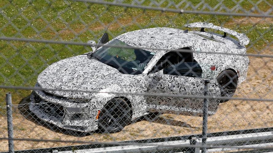 Accident de la nouvelle Chevrolet Camaro Z/28 au Nürburgring