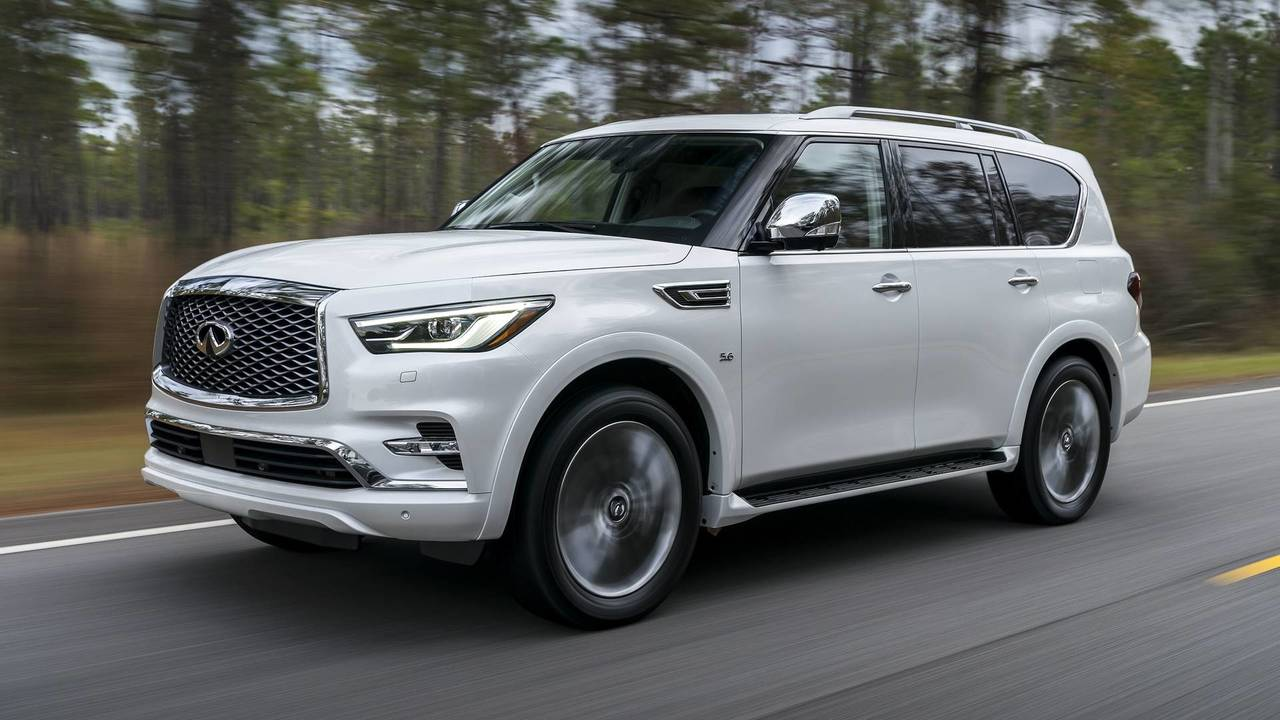 2018 infiniti qx80 first drive photo. Black Bedroom Furniture Sets. Home Design Ideas