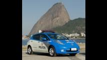 Polícia Militar do Rio de Janeiro recebe duas unidades do Nissan Leaf