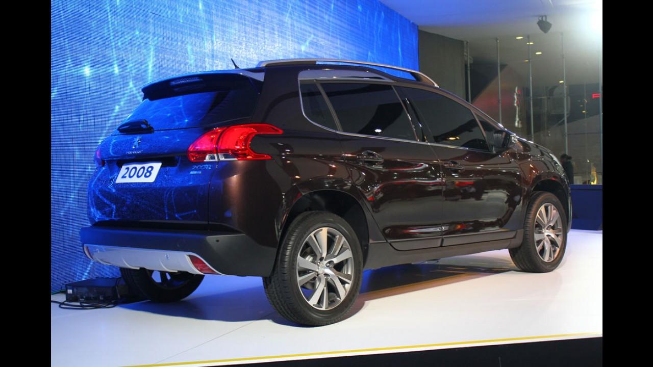 Veja as versões e dados de consumo do Peugeot 2008 nacional