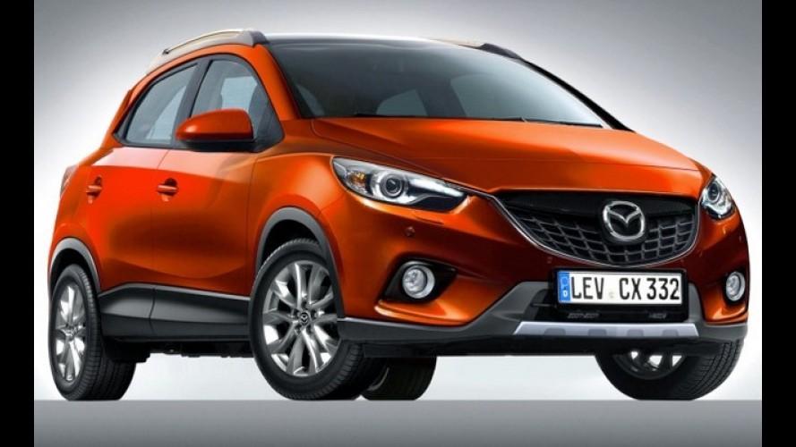 Projeção: Mazda CX-3 será o futuro crossover compacto para enfrentar EcoSport e companhia