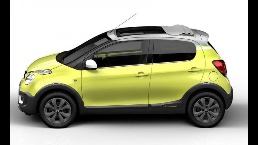 Aventureiro francês: Citroën mostra C1 Urban Ride que estará em Paris