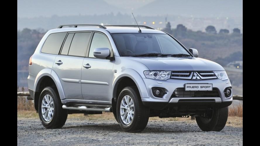 Mitsubishi apresenta linha 2014 do Pajero Sport com novidades
