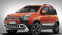 Fiat Panda Cross gains rugged looks for 2014 Geneva show
