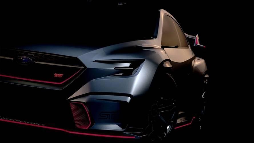 Minden idők egyik legdurvább Subaruja lehet a Viziv Performance STI Concept