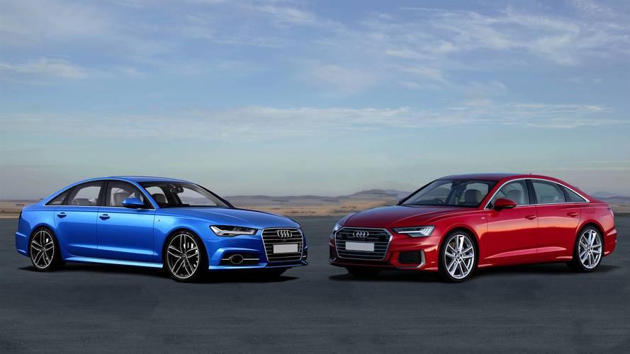 Comparatif - La nouvelle Audi A6 croise le chemin de son aînée
