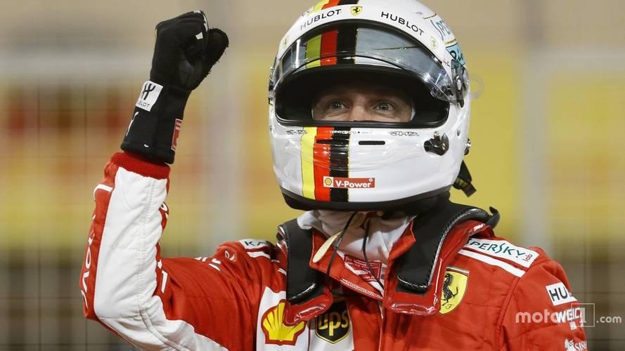 2018 F1 Bahrain GP: Vettel Leads Ferrari Front Row Lock-Out
