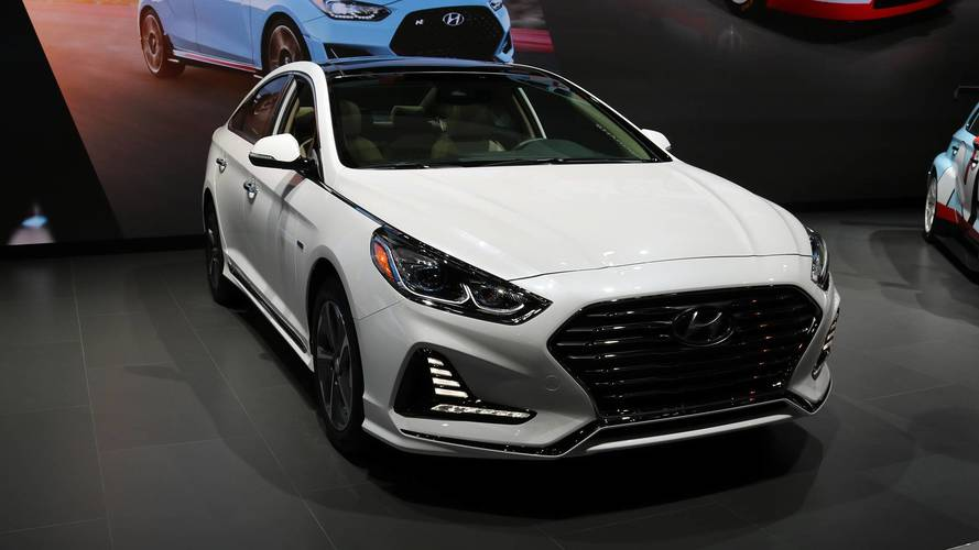 2018 Hyundai Sonata Hybrid And Plug-In Hybrid