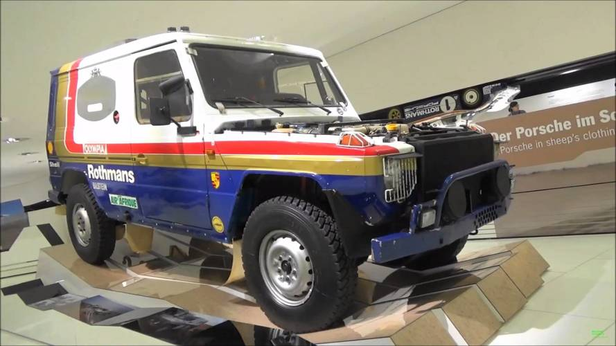 Did You Know? Porsche Once Put A V8 From The 928 In A G-Class