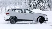 Genesis SUV test mule spy photo