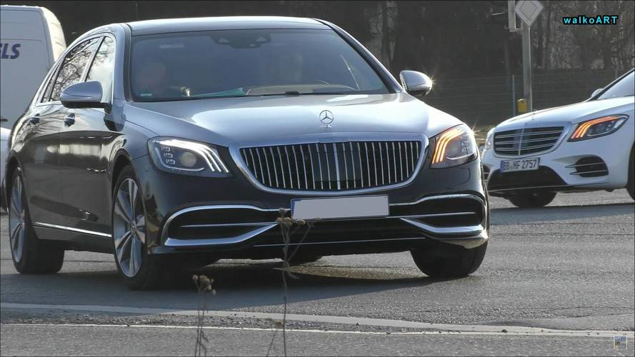 2019 Mercedes-Maybach S-Class Looks Majestic In The Real World