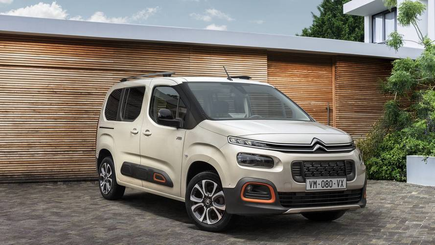 2018 Citroen Berlingo MPV gets funky update