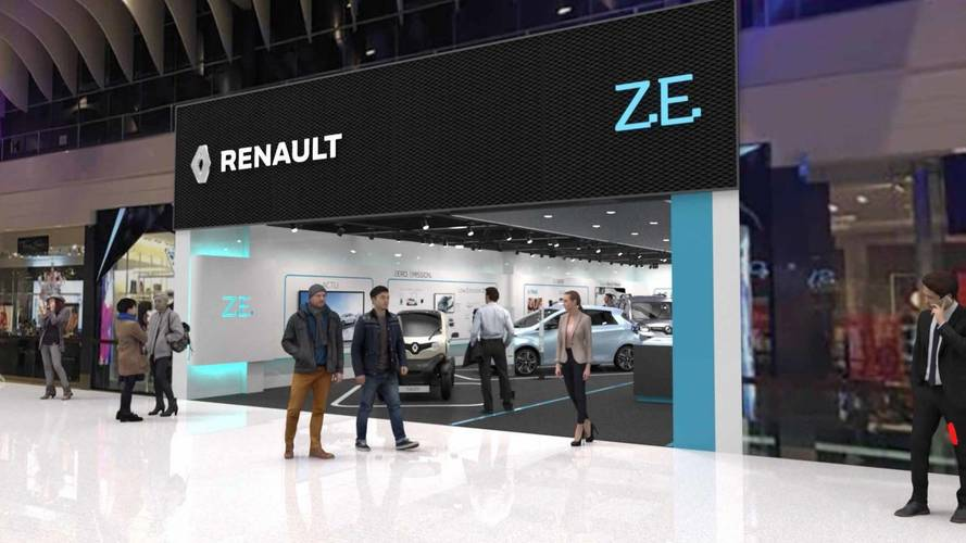 Renault apre il primo concept store per auto elettriche