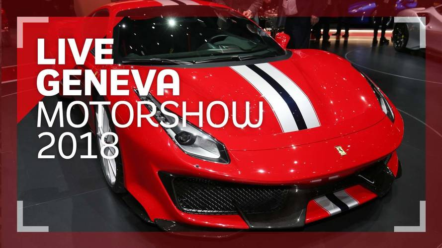 Genève 2018 - La Ferrari 488 Pista en vidéo !