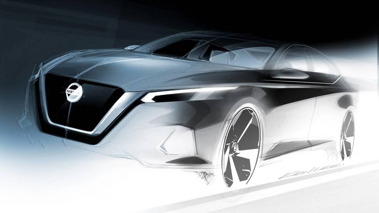 2019 Nissan Altima teaser