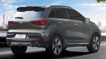 Kia KX3 concept leaked images