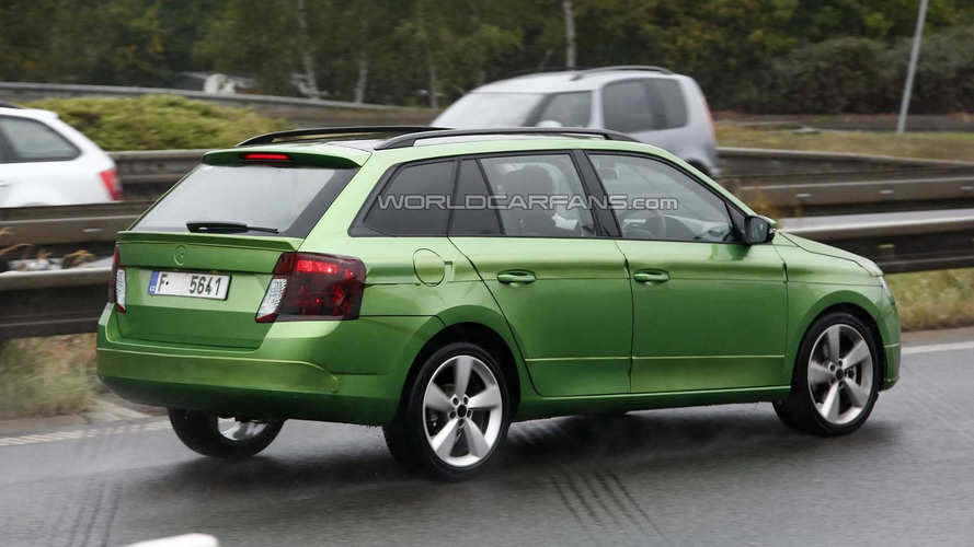 Skoda Fabia Combi confirmed for Paris Motor Show debut