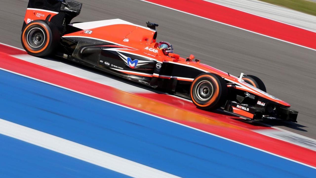 Rodolfo Gonzalez Marussia F1 Team Reserve Driver 15.11.2013 United States Grand Prix
