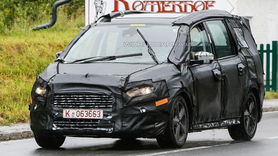 Next-gen Ford Galaxy spied wearing a production body