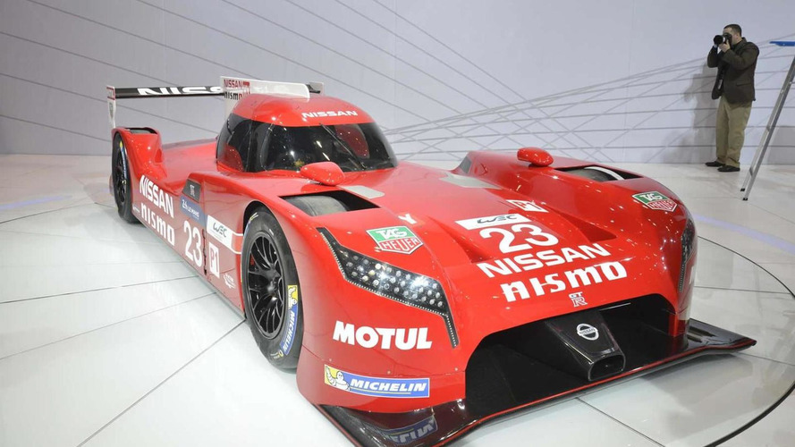 Nissan GT-R LM NISMO races into Chicago