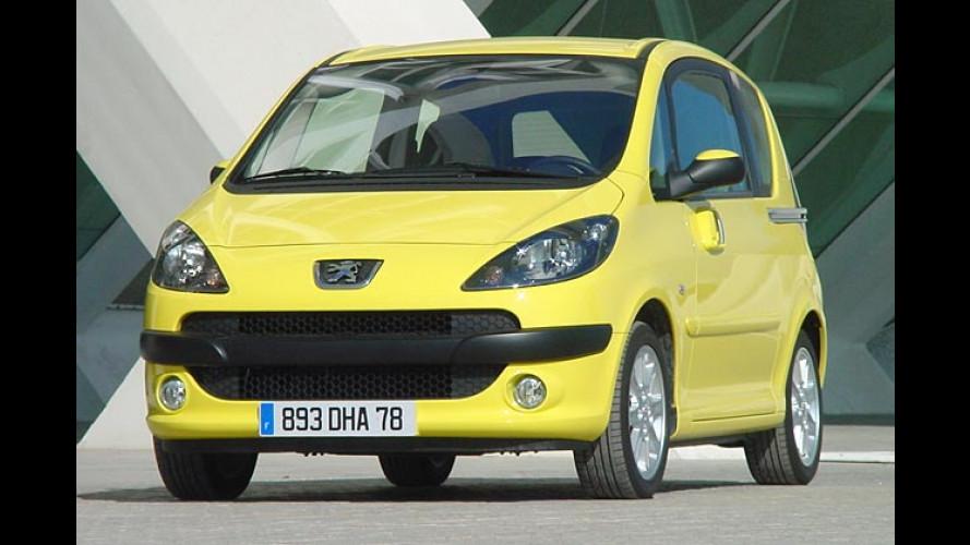 Peugeot 1007: Standfester Mikrovan mit Elektrogimmicks