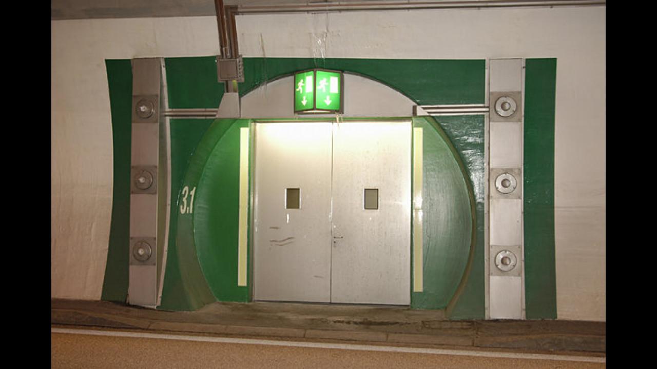 Verhalten im Tunnel