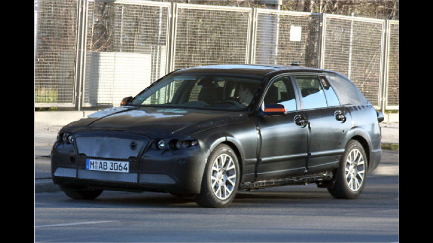 Getarnt unterwegs: Der neue BMW 5er Touring