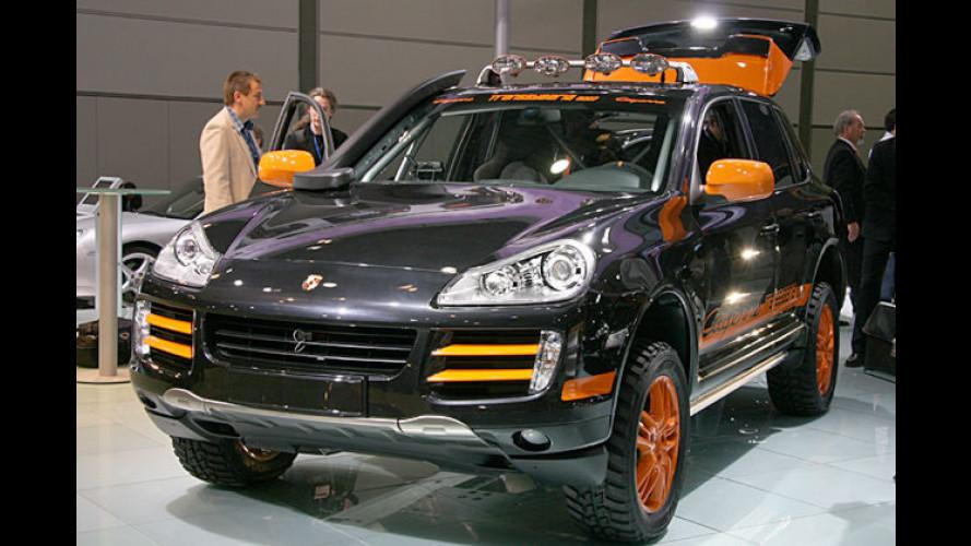 Rallye-Cayenne Transsyberia: Ein harter Porsche