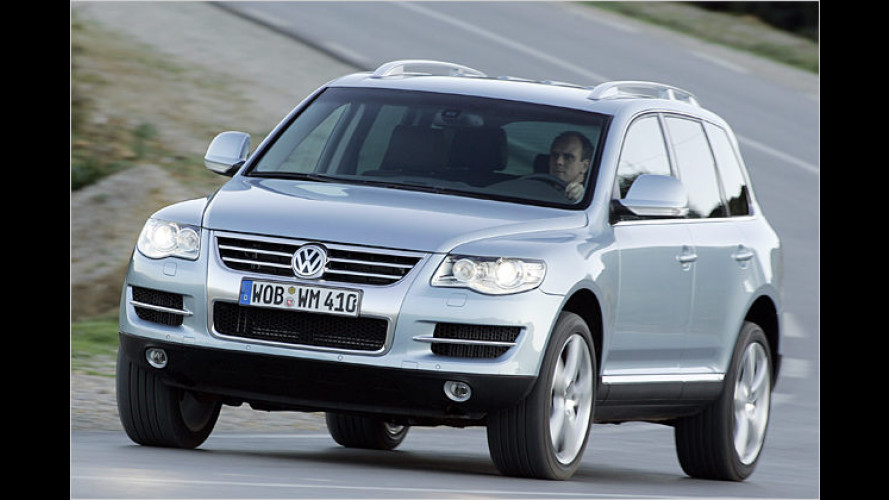 First Class Offroad Suite: Touareg-V8-Direkteinspritzer-Test