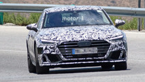 Audi S7 Photos espion