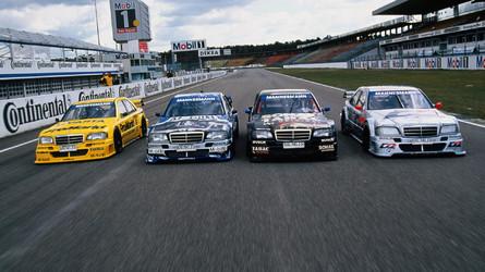 Méga galerie - Mercedes en DTM, de la route à la piste