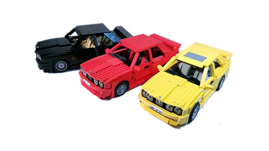 BMW M3 E30 de Lego procura apoiadores para virar realidade