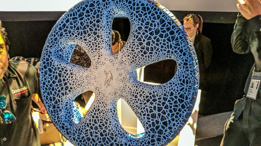 Michelin nous présente la roue du futur