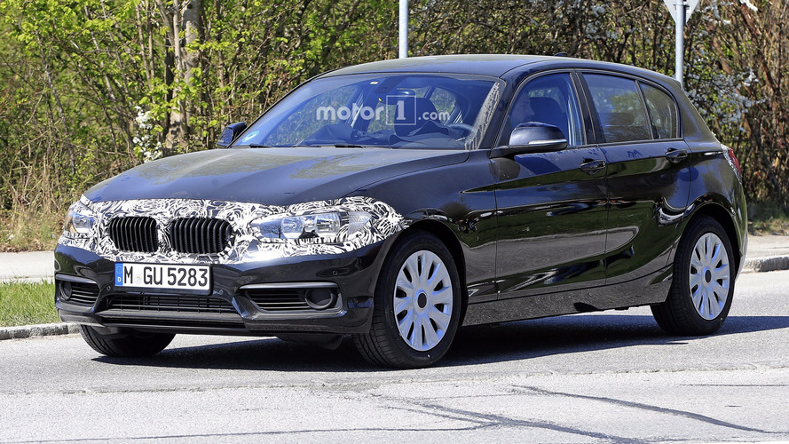 2018 BMW 1 Series Spied Masking Discreet Facelift