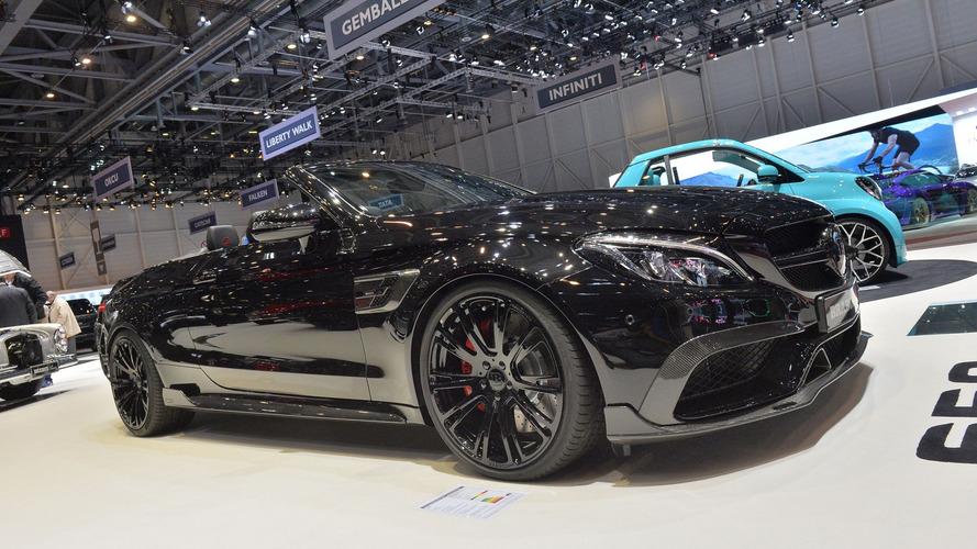 Brabus brings sinister 320 km/h Mercedes-AMG C63 S Cabriolet to Geneva