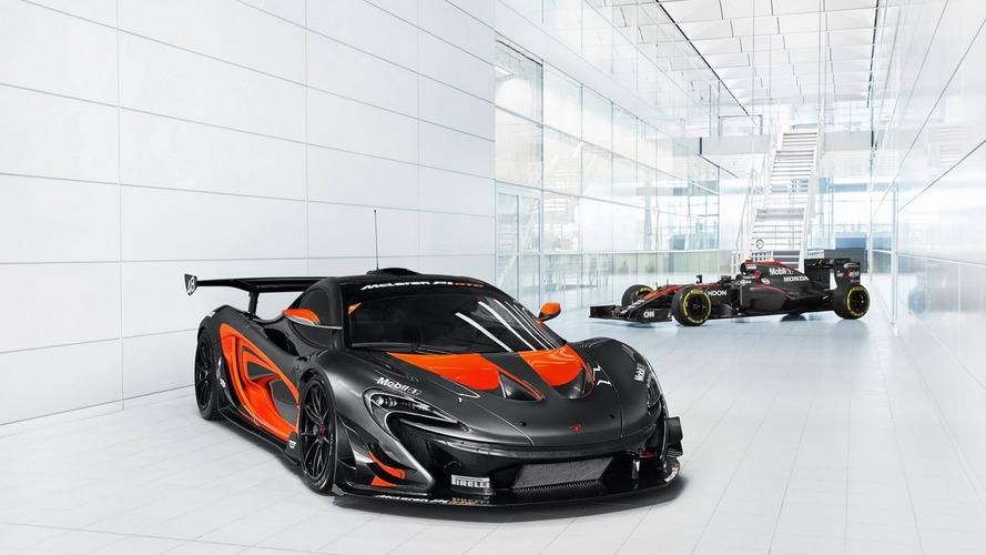 La McLaren P1 GTR obtient la même livrée que son homologue en F1