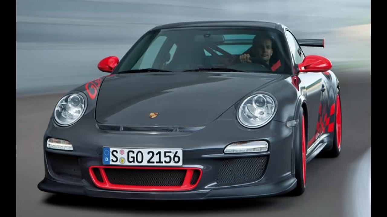 Porsche revela o 911 GT3 RS 2010 - Veja vídeo e galeria de fotos em alta resolução