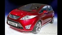 Novo Fiesta em versão minivan - Revista divulga imagens da nova Ford B-Max