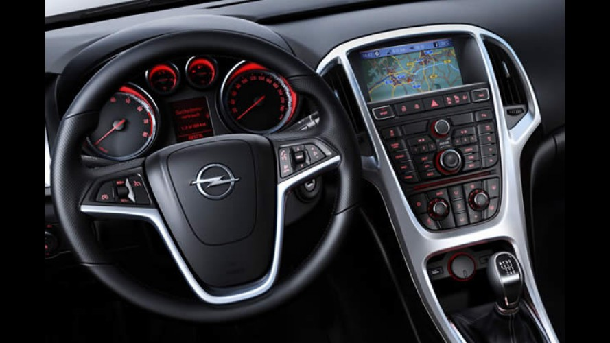 Opel divulga interior do Novo Astra 2010 - Veja detalhes em fotos de alta resolução