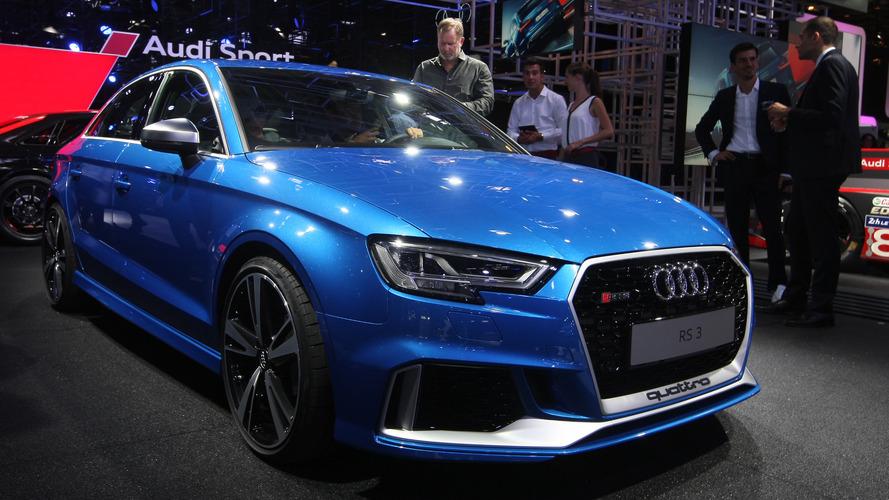 L'Audi RS3 Berline et ses 400 chevaux débarquent à Paris
