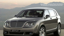 Spy Photos: New Bentley 4x4, Artist Impression