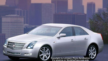 Spy Photos: 2008 Cadillac CTS