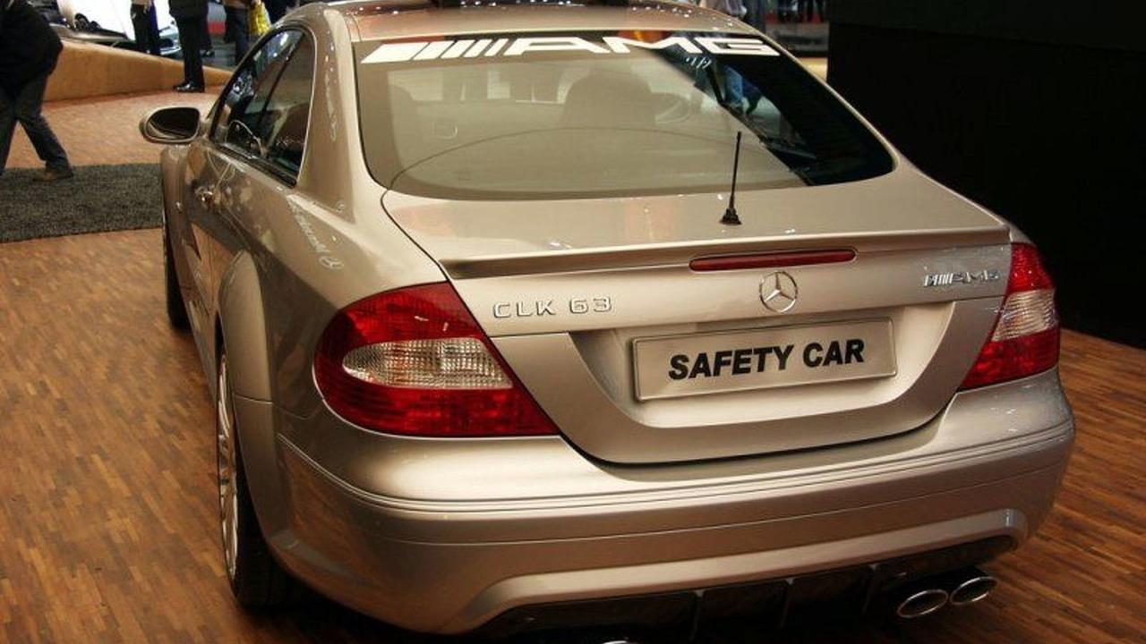 New CLK 63 AMG Safety Car
