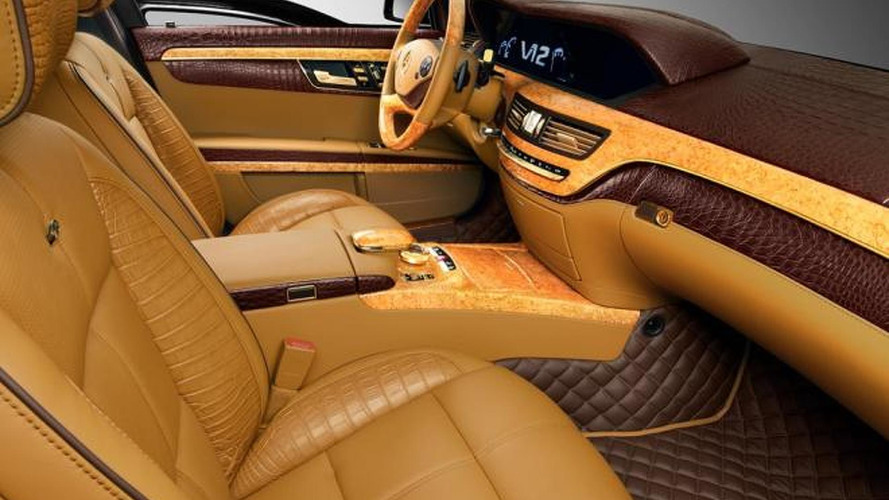 TopCar makes the Mercedes S600 Guard golden