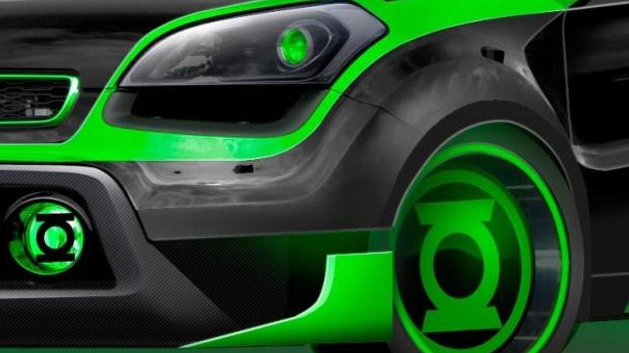 Kia Soul Green Lantern